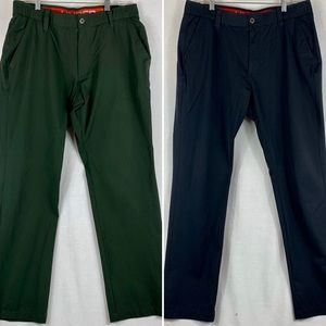 Under Armour Golf Pants Mens Lot of 2 Loose